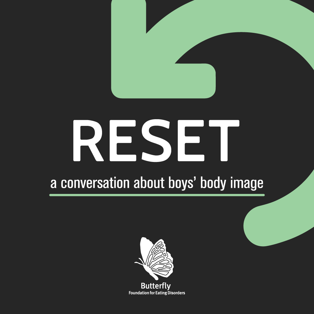 Reset conversation about body image Banner