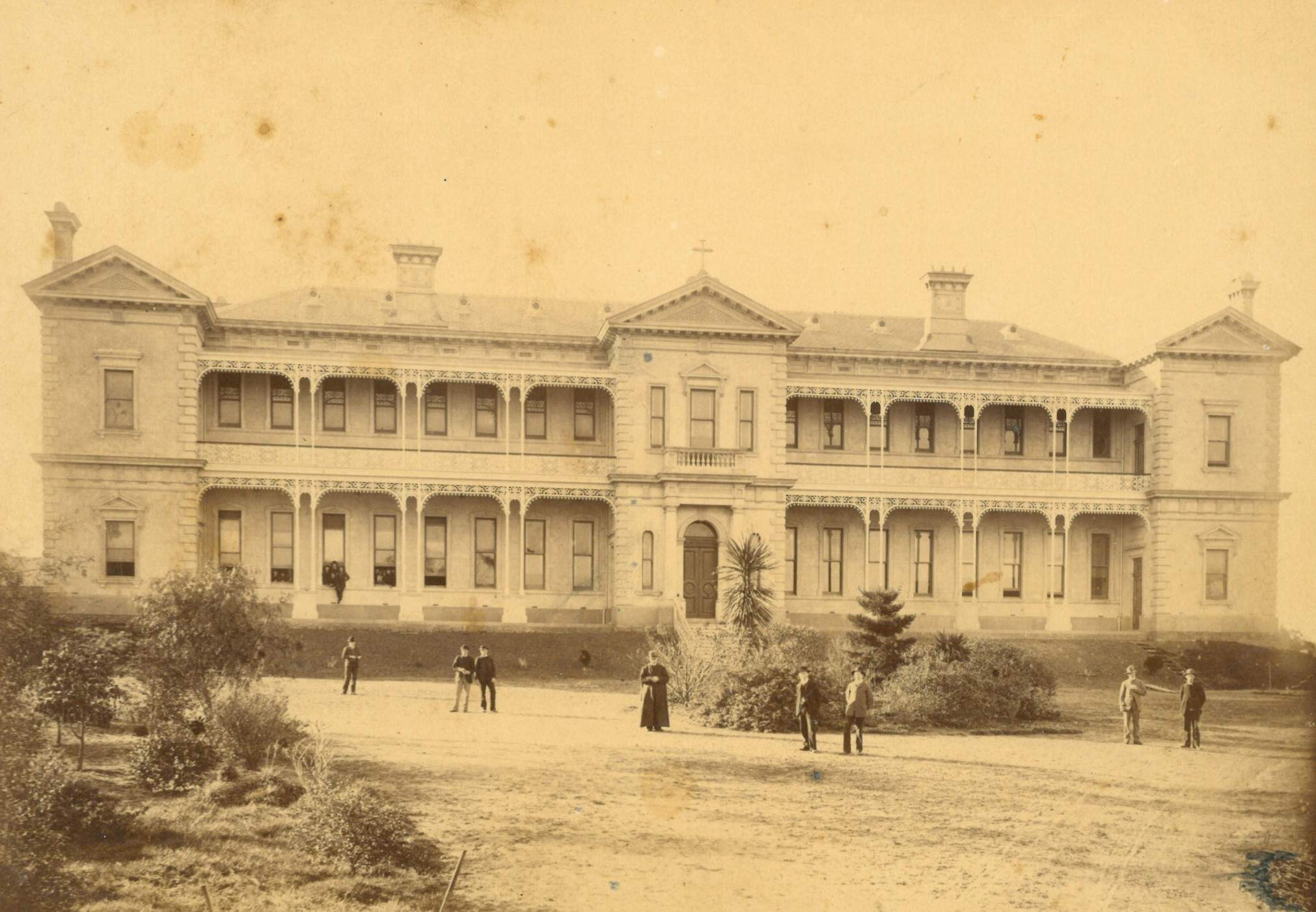 Earliest Image of Xavier College - our history