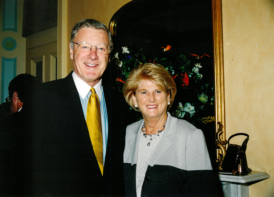 Barry and Claire O'Callaghan